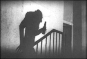 Quicksud's adaptation of the iconic scene. In this case Count Orlok simply wants to share a quick brew with Ellen.